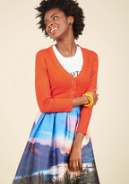 The Dream of the Crop Cardigan in Paprika in XS