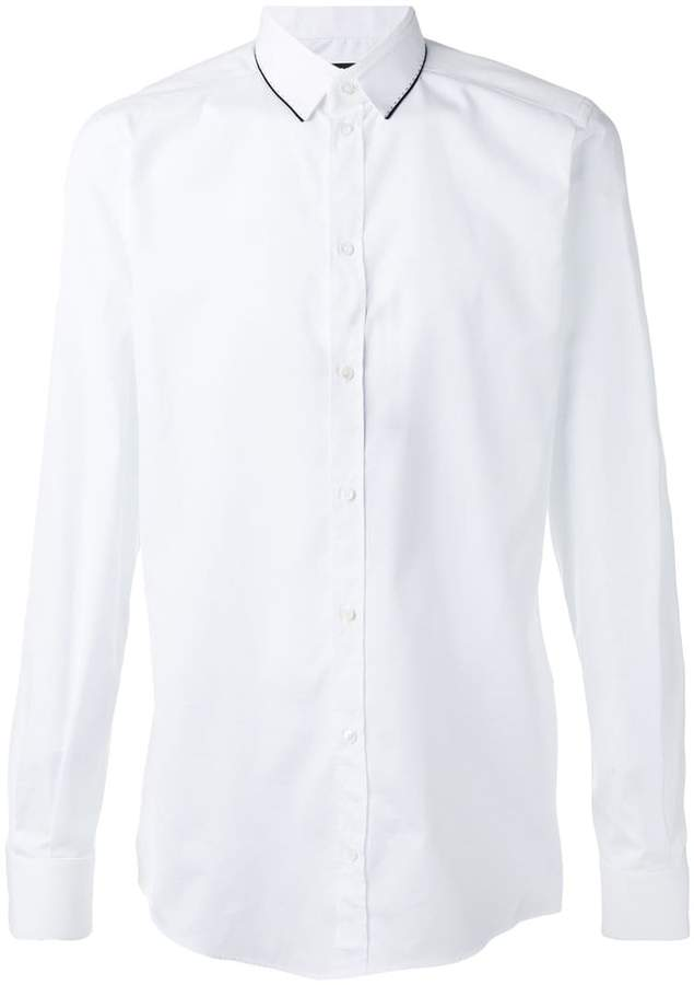 Dolce & Gabbana lined shirt