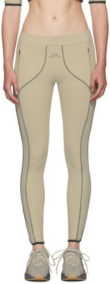 A-Cold-Wall* Beige Piping Leggings