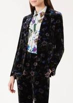Unlimited Passionflower Velvet Blazer