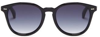 Le Specs Bandwagon Round Sunglasses - Black