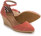 Eric Michael Vera Wedge Sandals - Suede (For Women)