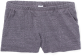 Erge Charcoal Terry Shorts
