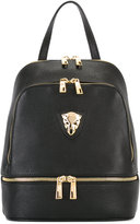 Baldinini gold-tone zips backpack - women - Leather - One Size