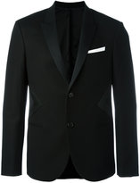 Neil Barrett tuxedo jacket - men - Cotton/Polyamide/Polyester/Virgin Wool - 48