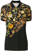Etro floral print polo shirt - women - Cotton/Spandex/Elastane - 42