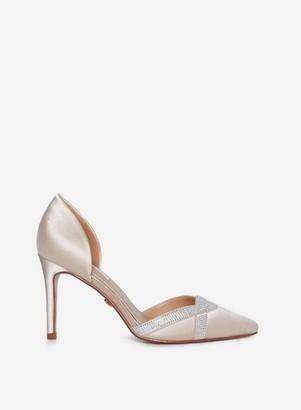 Dorothy Perkins Womens **Showcase Blush 'Glamour' Court Shoes, Blush
