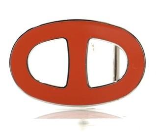 Hermes Boucle seule / Belt buckle Red Metal Belts