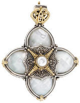 Konstantino Mother of Pearl Floral Pendant