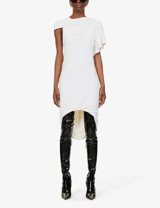 Alexander Wang Asymmetric stretch-jersey mini dress