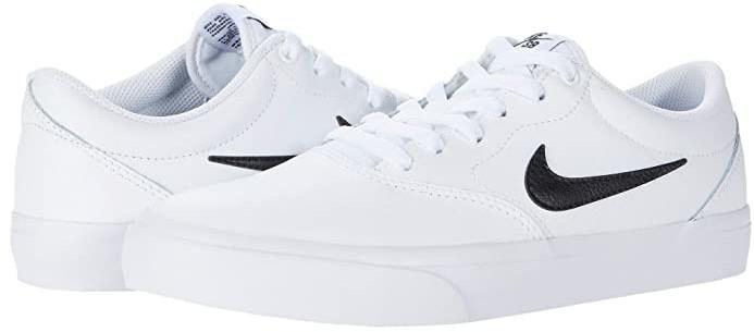 Nike SB Charge Premium (White/Black/White/Black) Men's Shoes ...