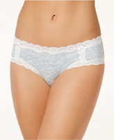 Jenni by Jennifer Moore Cotton Lace Trim Hipster, Only at Macy's