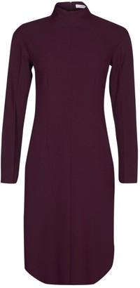 Celine Burgundy Silk Dresses