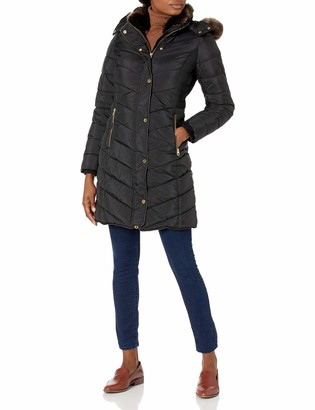 Joules Women's Long Padded Coat