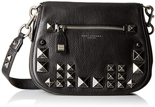 Marc Jacobs Recruit Chipped Studs Saddle Bag