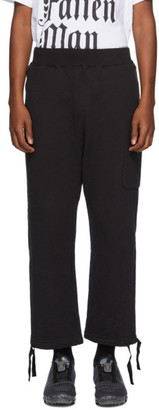 Undercover Black Fleece Lounge Pants