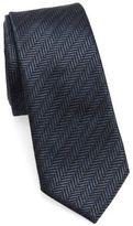 Z Zegna Dimensional Stripe Silk Tie