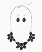 Charming charlie Petal to the Metal Necklace Set