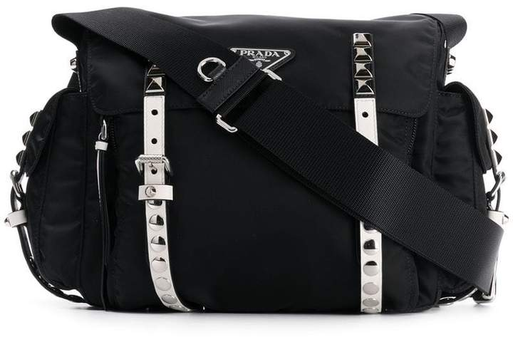 b4f2328e308756 Prada Black Shoulder Bags for Women - ShopStyle Canada