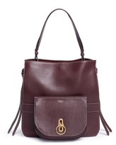 Mulberry 'Amberle' detachable pouch leather tote