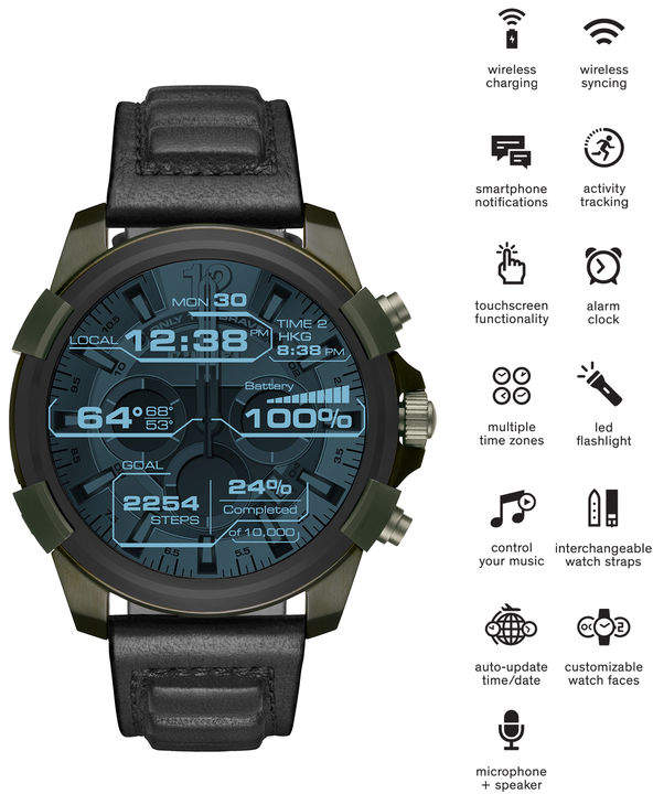 Diesel Smartwatches 00QQQ - Green