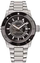 Edox Men's Co-1 43mm Steel Bracelet & Case Automatic Analog Watch 80099 3m Nin