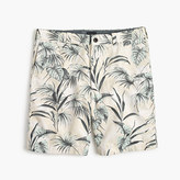 "J.Crew 9"" Stanton short in large frond"