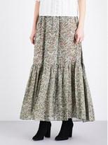 Vanessa Bruno Gilson silk maxi skirt
