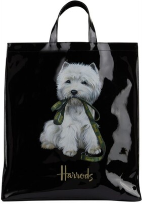 Harrods Large Westie Shopper Bag