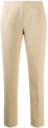 Piazza Sempione Tapered Mid-Rise Trousers