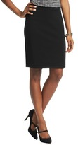 LOFT Compact Knit Elastic Waist Pencil Skirt