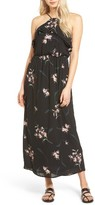 Lush Women's Ruffle Maxi Dress