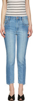 Etoile Isabel Marant Blue Clancy Jeans