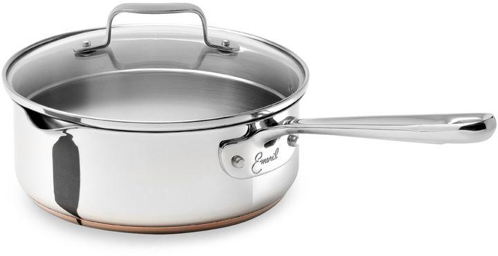 Emerilware Stainless Steel 2-Quart Saucepan with Lid