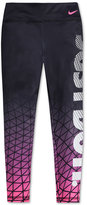 Nike Graphic-Print Leggings, Toddler & Little Girls (2T-6X)