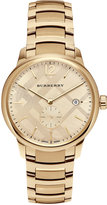 Burberry Men's Swiss Gold-Tone Ion-Plated Stainless Steel Bracelet Watch 40mm BU10006