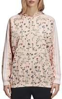 adidas Floral Print Windbreaker Jacket