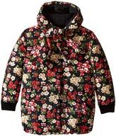 Dolce & Gabbana Back to School Floral Nylon Coat (Big Kids)