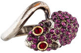 Marc Jacobs Crystal Mouse Ring