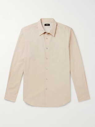 Theory Willowmere Cotton-Poplin Shirt