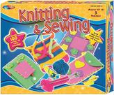 Very Beginners Knitting and Sewing