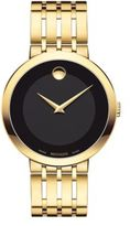 Movado Esperanza Yellow Gold PVD Finished Stainless Steel Bracelet Watch