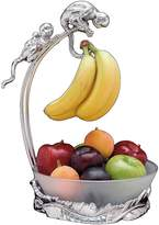 Arthur Court Safari Monkey Banana Holder with Fruit Bowl