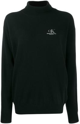 Calvin Klein Jeans Est. 1978 logo jumper