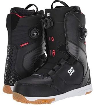 DC Shuksan Dual BOA(r) Snowboard Boots (Black) Men's Snow Shoes
