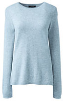 Classic Women's Petite Cashmere Sweater-Vicuna Heather