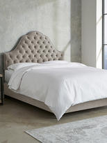 Skyline Furniture Nail Button Tufted Arch Bed