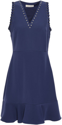 MICHAEL Michael Kors Studded Crepe Mini Dress