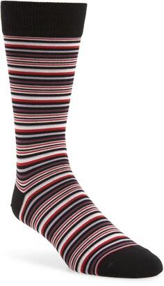 Nordstrom Mini Stripe Dress Socks