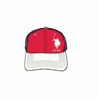 U.S. Polo Assn. U.S. Polo Association Women's Adjustable Curved Brim Baseball Cap Pink